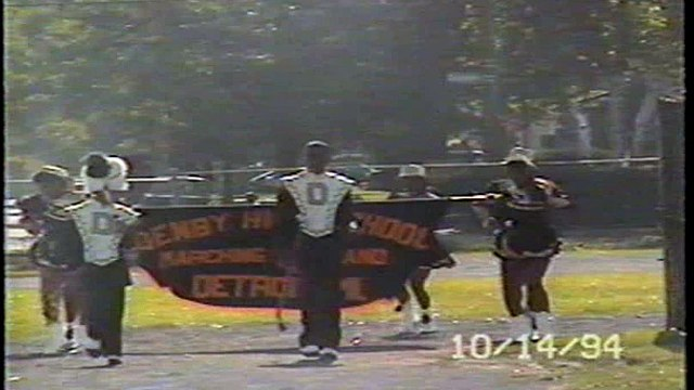 Denby High School Marching Band, Homecoming 10-14-94.wmv