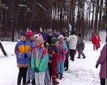 Szkoła Podstawowa nr 2 w Świeciu 1998 12 09 SP 2 Kulig