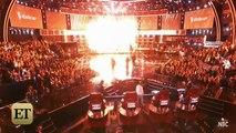 Watch Christina Aguilera Rub 'The Voice' Win in Adam Levine and Blake Shelton's Faces