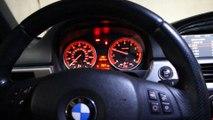 BMW 335i | twin turbo | biturbo cold start and Rev | turbo whistle