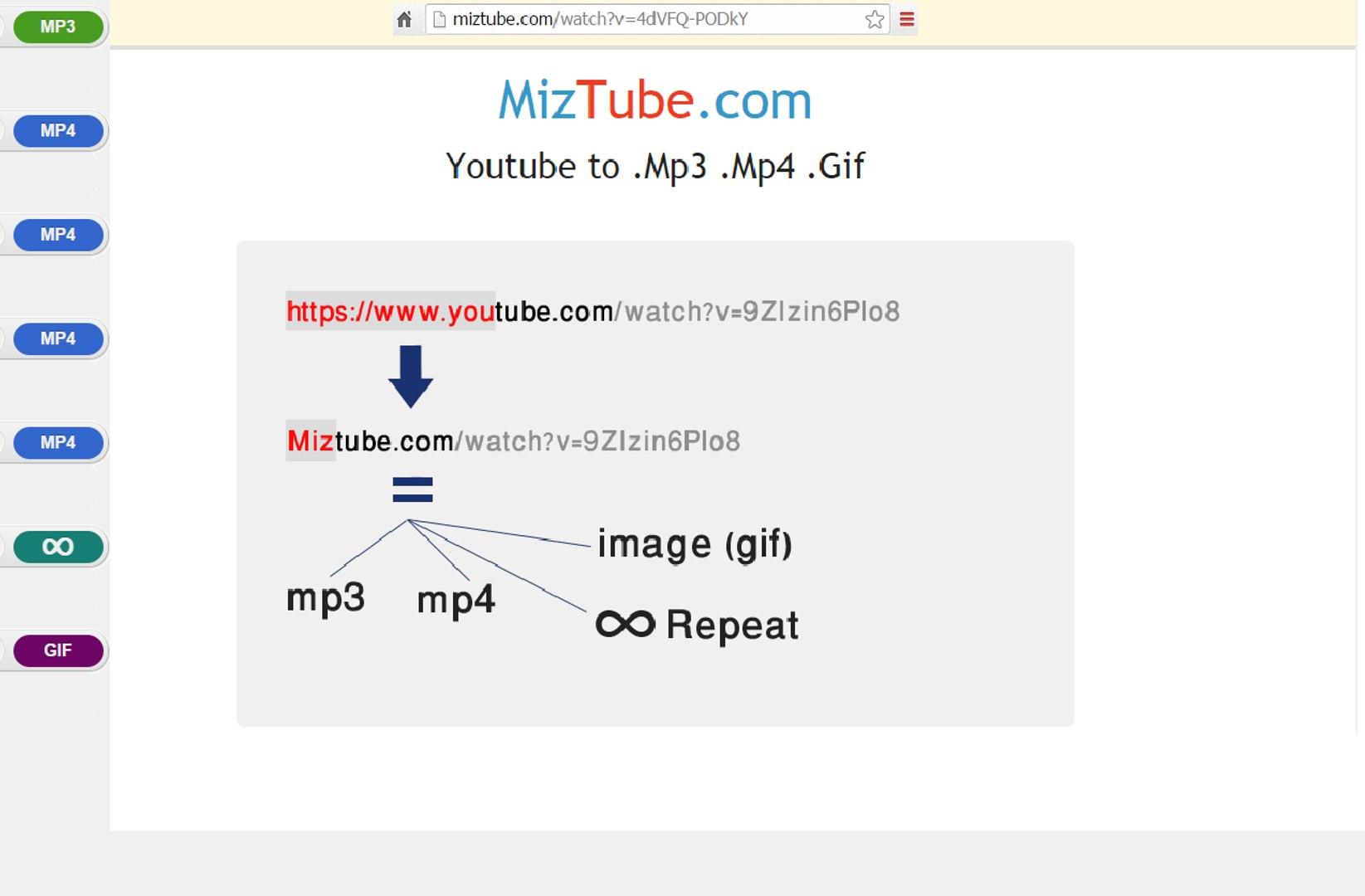 2016 طريقة تحميل فيديو بدون برامج MizTube