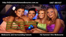 H2 Hummer Hire Melbourne - Luxury Stretch Hummer Limos
