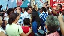 Paes é recebido pelo povo em Campo Grande | Eduardo Paes 15