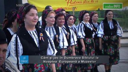 Cant si joc in Dumbrava Sibiului la Noaptea Internationala a Muzeelor