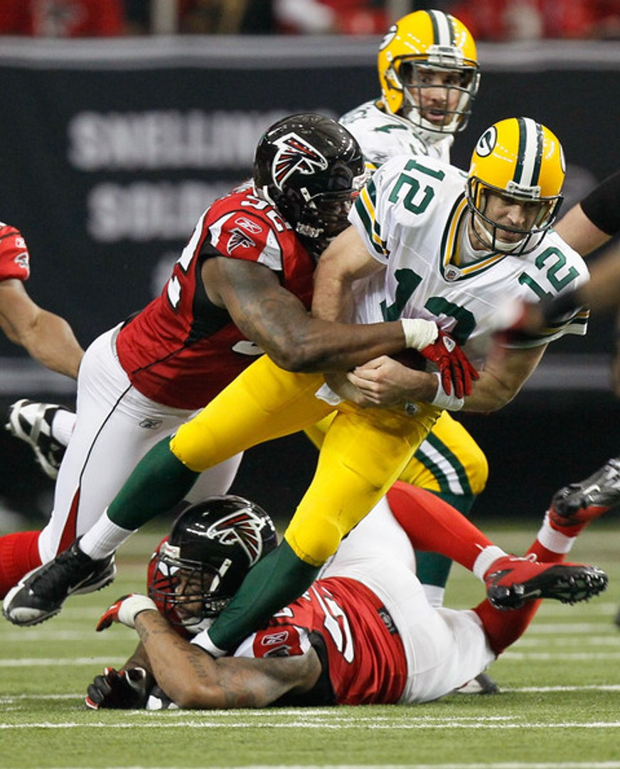 Packers Vs Falcons 2010 Nfl Playoff 1 Of 4 Video Dailymotion