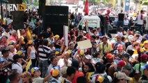 Oposición venezolana volvió a las calles para exigir referendum revocatorio