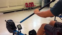 Iron Dragons Tryout: 15 Second Dragon Boat Paddle Erg Test - 77.1 m - Dec 23, 2015