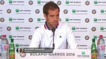 "Roland-Garros - Gasquet : ""Des matches assez fous contre Kyrgios"""