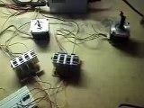 Teste definitivo da Placa Booster para motores de passo Nema 23.