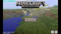 Seed Para Minecraft PE 0.12.1 | 0.11.1 | Doble Aldea y Bioma Puntas de hielo | #11