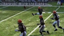 Madden NFL 10 Ultimate Team Chargers at Browns Feb 4, 2010 Adrian Peterson gets a kickoff return?