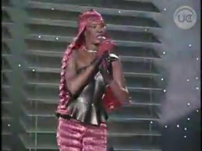 Sexy Grace Jones La Vie En Rosei Need A Man Live On Chilean Tv 1983