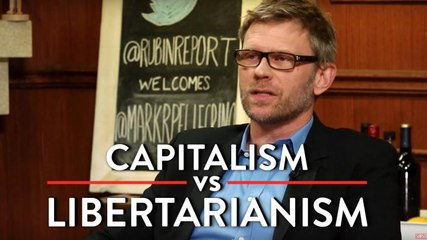 Capitalism vs Libertarianism, and the Role of Religion in Government (Mark Pellegrino Interview part 2)
