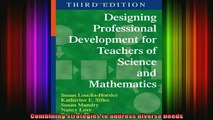 read here  Designing Professional Development for Teachers of Science and Mathematics