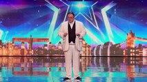 Holy moly it's Tony Baloney Week 1 Auditions Britain's Got Talent 2016