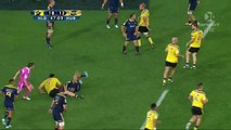 Malakai Fekitoa SMASHES Conrad Smith - Highlanders vs Hurricanes Super 15 2014