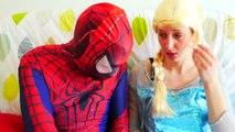 Spiderman & Frozen Elsa is Sick! Booger Pranks in Real Life! Superhero ft Jack Frost and Spidergirl