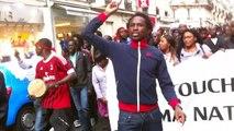 Marche du 27/04/ 2013 des mauritaniens à Paris
