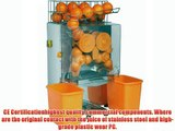 Sanven Commercial Juicer Auto Feed Squeeze 20-22 Oranges Per Mins 4-7 Glasses Per Mins Safety