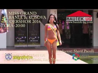 Promo Miss Grand Albania&Kosova - 2016