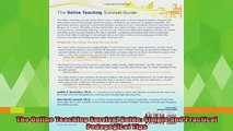 free pdf   The Online Teaching Survival Guide Simple and Practical Pedagogical Tips
