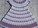 Beautiful Crochet Patterns - for free -Crochet Baby dress pattern 68 (WOC)