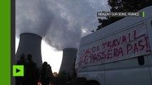 Des barricades en flammes bloquent une centrale nucléaire en marge des grèves contre la loi travail