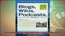 best book  Blogs Wikis Podcasts and Other Powerful Web Tools for Classrooms