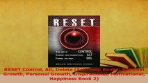 Download  RESET Control Alt Delete SelfHelp Books Spiritual Growth Personal Growth Inspirational Download Full Ebook