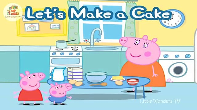 ☀ Peppa Pig   Let s Make a Cake ☀ Peppa Bakes a Cake ☀ Peppa Pig app Gameplay ☀ Peppa Pig app demo ☀