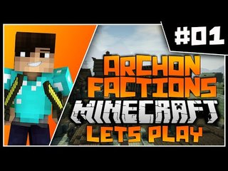 Minecraft Archon Factions Let's Play | THE RETURN | Ep 1