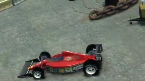 GTA IV Formula One Ferrari