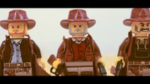 Lego Western stop motion animation brickfilm - For a Few Bricks More Duel
