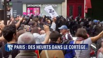 Manifestations anti-loi Travail: des débordements observés dans le cortège parisien
