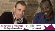 Ballaké Sissoko et Vincent Segal dans les studios de Salif Keita à Bamako!