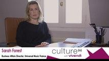 Sarah Forest, Business Affairs Director, Universal Music France, Creative jobs