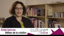 Emilie Delorme, Directrice de l'Académie européenne de musique du Festival d'Aix-en-Provence, Métiers de la création