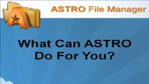 Astro File Manager - OverView