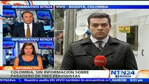 CICR dispuesta a colaborar en operación de entrega de periodistas desaparecidos