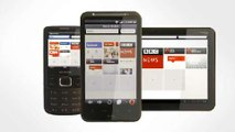 Opera Mini 7 for featurephones - video dailymotion