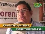 DESPUÉS DE 23 AÑOS DE MILITAR EN EL PARTIDO REVOLUCIONARIO DEMOCRÁTICO  DEL MUNICIPIO DE ZACATEPEC, ESTE DIA FRANCISCO SALINAS RENUNCIA AL PARTIDO POR LAS IMPOSICIONES Y EL DEDAZO AL IMPONER A ABDON TOLEDO CO
