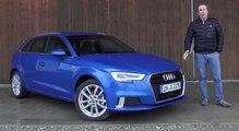 Audi A3 Sportback 2016 (restylée) [ESSAI VIDEO] : un peu de forme, un peu de fond (prix, équipements, avis)