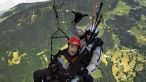 The Intouchables   Paragliding Scene