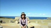 BOLIVIA - Despedida  en la Isla del Sol.