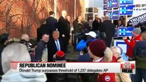 Donald Trump secures enough delegates clinching nomination