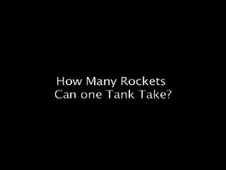 Halo Tank Takes 27 Rockets