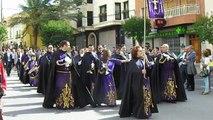 """Procesion de Palmas o del """"Burret"""" Los Tribunales finale- Pinoso Spain 19 Octobre 2014"""