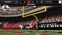 NFL Madden Mobile : Houston Texans vs. Atlanta Falcons