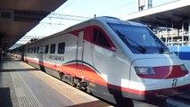 ETR 460 n.25 in partenza col FB 9877 Roma Termini - Reggio Calabria Centrale