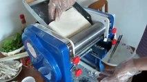 Máy cán và cắt sợi mì, máy cắt sợi phở, máy cán và cắt sợi bánh canh, máy cắt sợi bánh canh bột gạo/mì